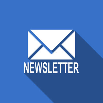 newsletter flat icon