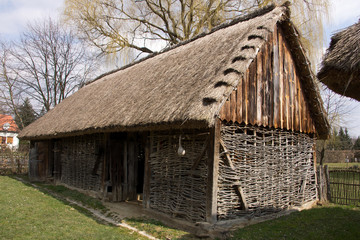 Traditional Hungarian house