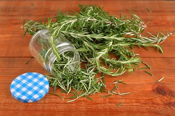 Rosemary herb roasting