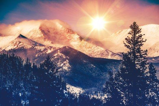 Colorado Mountains Vista