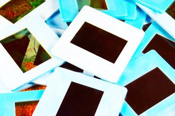 scattering of retro slide film