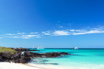 Bacha Beach in Galapagos Islands
