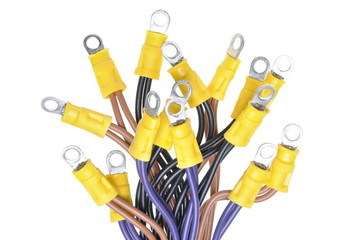 Cables with terminals used in electrical wiring system