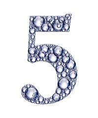 number five bubbles