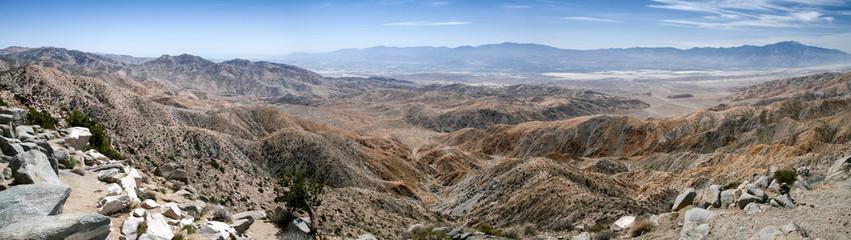 Joshua Tree Park overlooking the San Andreas fault, California, USA