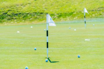 Quba - MARCH 26, 2015: Golf Course at Quba Rixos Hotel on March