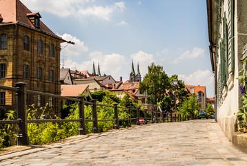 Wall Mural - mitten in Bamberg