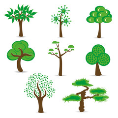Simple design trees set