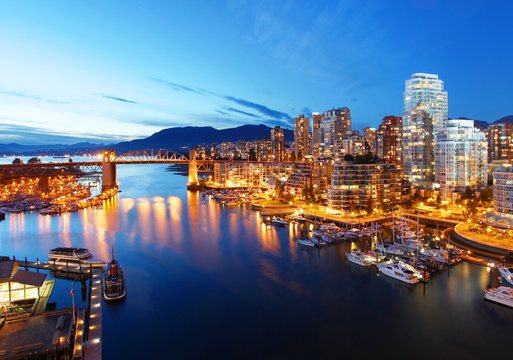 Vancouver in Canada