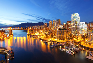 Vancouver in Canada Wall mural