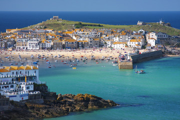 St. Ives in Cornwall, England
