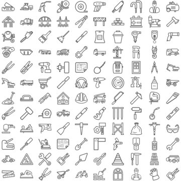 Symbole aus dem Bauwesen