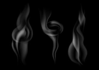 set of dark smoke