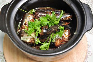 Vietnamese braised fish