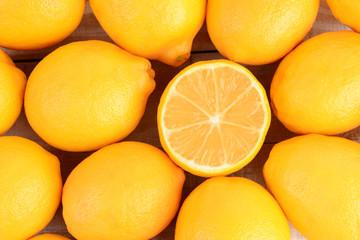 Closeup Lemons