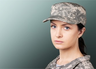 Armed Forces, Military, Women.