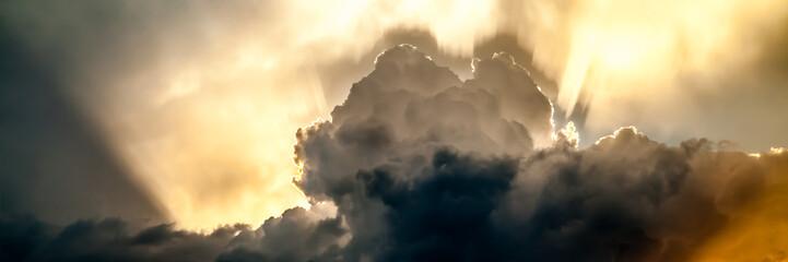 Keuken foto achterwand Hemel Storm Clouds At Sunset