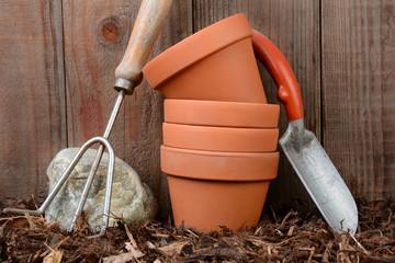 Gardening Tools Stilll Life