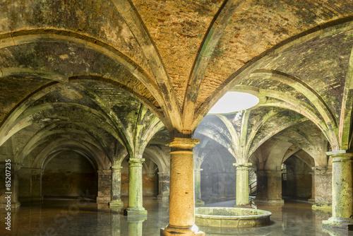 Fototapete Portuguese Cistern in El Jadida, Morocco