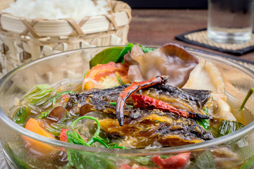 Cuisine of northern Thailand.