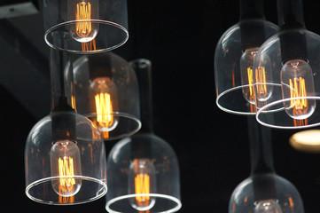 Decorative antique edison style light bulbs