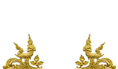 Kinnaree pattern thai style