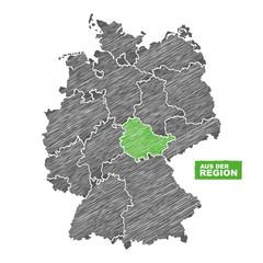 Thüringen | Aus der Region | Landkarte