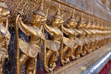Golden Garuda At Temple of the Emerald Buddha
