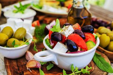 Greek salad, choriatiki