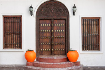 traditional zanzibar door