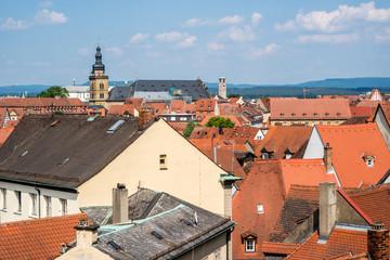 Über den Dächern von Bamberg
