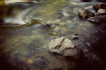 Rushing Water mountain stream.