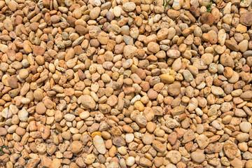 beautiful pebble floor as background