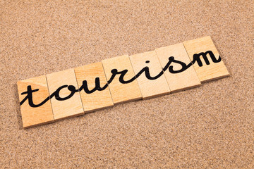 Words formed from small pieces of wood, tourism