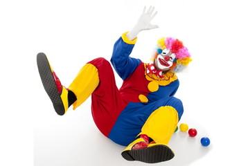 Studio shot of a Crazy Clown