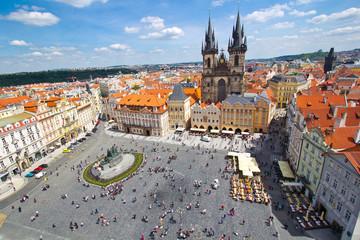 Fotobehang Praag Altstädter Ring in Prag
