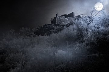 Fotobehang Kasteel Dark ages