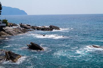 Mare, onde e spiaggia, vacanza relax