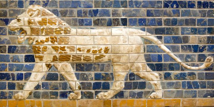 Fragment of the Babylonian Ishtar Gate