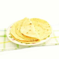 indian food indian tortilla dish
