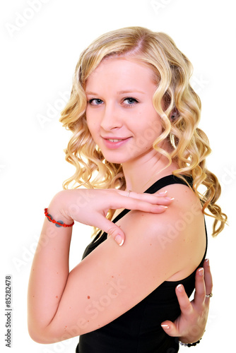 "Fille Blonde Belle une belle fille blonde"" stock photo and royalty-free images on"