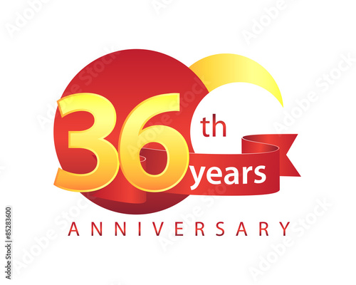 Quot years anniversary logo stock image and royalty free
