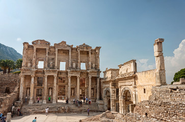 Celsus library in Ephesus Selchuk