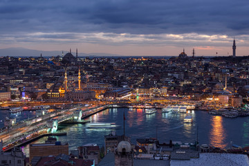 Eminonu from Galata Tower