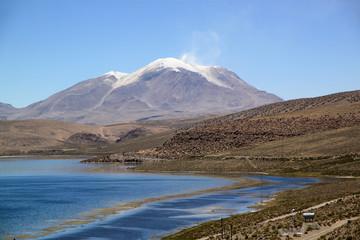 Volcano Ollague, Bolivia, South America