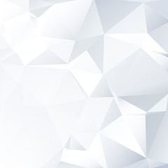 Black and White Lowpoly Vector Background   EPS10 Design
