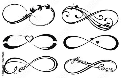 infinity love forever symbol stockfotos und lizenzfreie vektoren auf bild 85303265. Black Bedroom Furniture Sets. Home Design Ideas