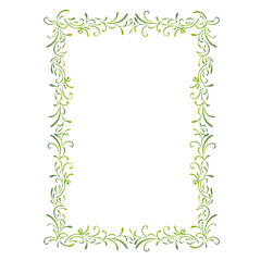 simple green frame
