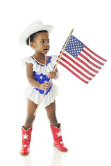 Tiny Majorette Patriot