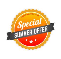 Special Summer Offer Badge